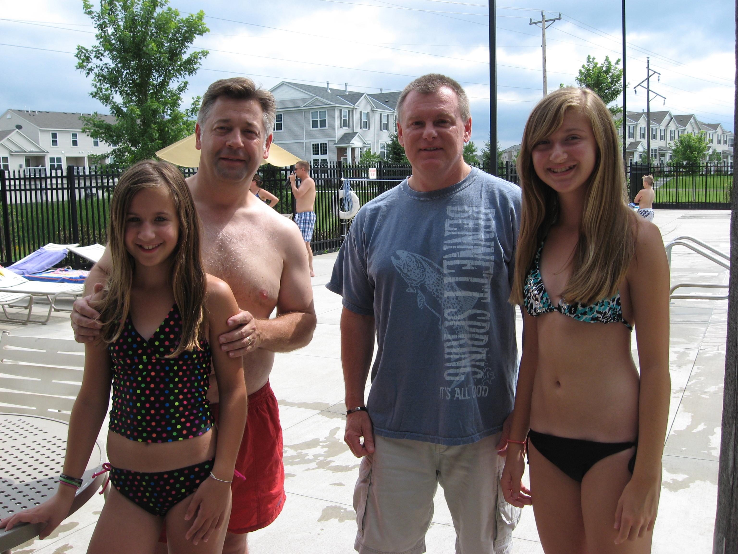 Teen girls flashing at pool party useful