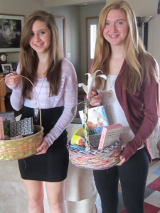 Never too old for an Easter basket~