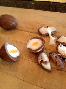 Egg yolks!