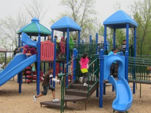 They loved the playground!