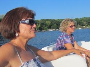 Jean & Karin enjoying the sights~