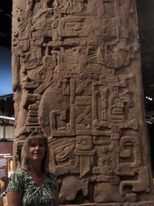 "Mayan's were known for their ""glyphs."""