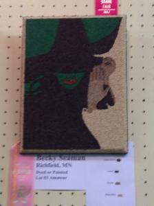 """A """"Wicked"""" crop art."""