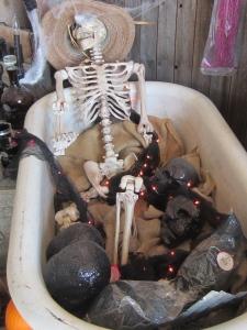Love this spooky tub!