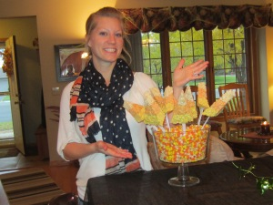 Erin's Candy Corn Castle