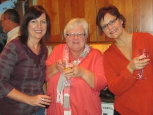 Tammy, Claire & Renee enjoying a night out~
