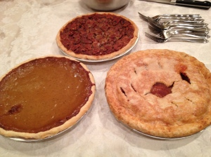 Pumpkin, pecan or apple?