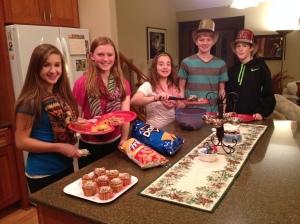 Kelly, Johanna, Anna, Greg & Aaron.
