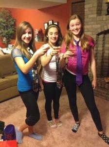 Cheers from Kelly, Anna and Johanna!