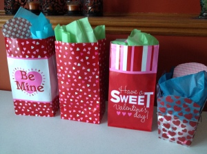Secret Cupid gifts ready to deliver~