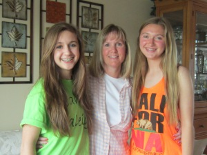 I love being a mom!  Best daughters ever!