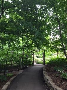 Wish this path led to my backyard. :)