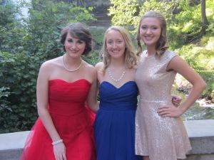 Longtime friends.  Beccah, Kristin & Megan.