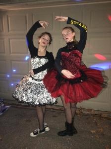 Zombie ballerinas