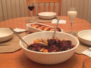 Roast Chicken Cacciatore w/Red Wine Butter