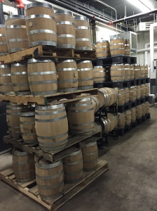 """Was tempted to put """"Solberg"""" on one of these barrels.  heehee"""