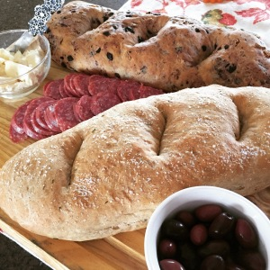 Nate makes a mean meat & cheese tray~
