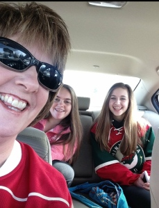 Heading to the game!