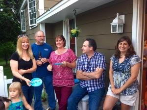 Peggy, Dan, Sheri, Kevin & Dawn.  Love this group!