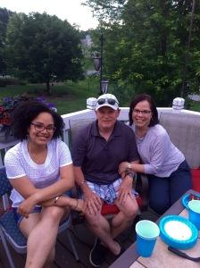Cristina, Jim & Sandra