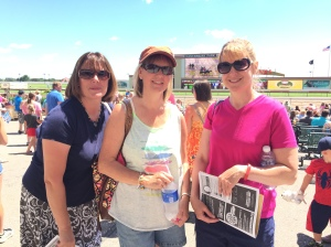 Girls at the racetrack~