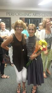Flowers from Mrs. Jones!  Love~