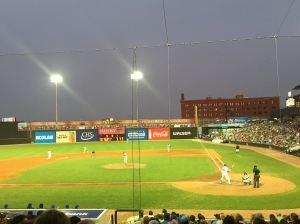 Pretty stadium & we had great seats!