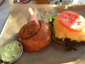 What goes best with a beer?...a burger of course.