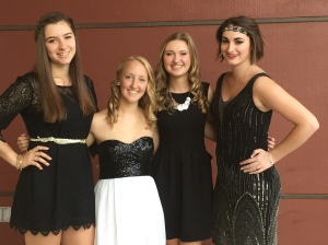 Some friends you will have for life~ Emily, Kristin, Megan & Beccah.