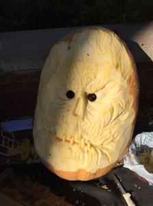A grumpy face~